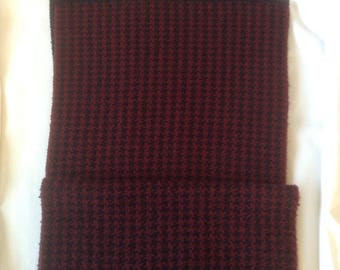 Mens Brooks Brothers Oblong Winter Scarf  /  Vintage Wool Man Scarf   /  Free Shipping USA  /  Traciesplace
