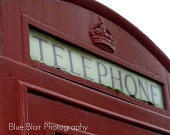 Red Phone Box print