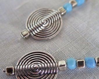 Ohrringe Silber Spirale