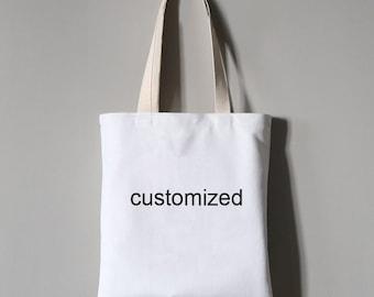 Customized Printed Short-pile Velvet Tote