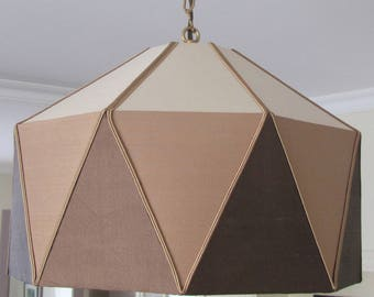 Diamond suspended shade