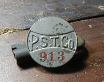 PST Co. Operator Badge - Philadelphia Suburban Transportation Co.