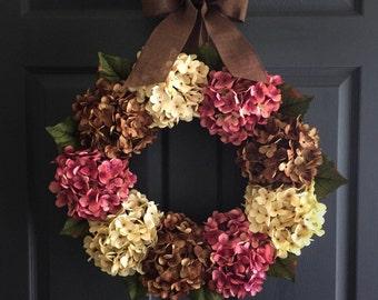 Wreath | Front Door Wreaths | Outdoor Wreaths | Door Wreaths | Spring Wreath | Winter Wreath | Housewarming Gift