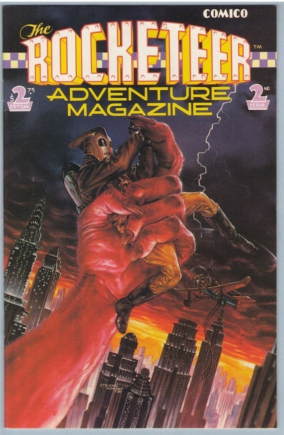 Rocketeer Adventure Magazine 2 Jul 1989 NM- (9.2)