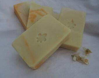 Coconut milk Shampoo bar orange lemon, palmoil free