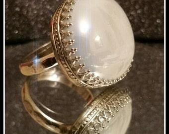 Royal Sterling Silver Cabachon Ring