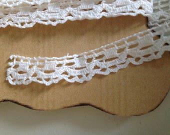 Antique bobbin lace