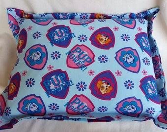Paw Patrol, Nap Pillow, Daycare Pillow, Skye Pillow, Travel Pillow, Toddler Pillow, Throw Pillow, Bed Pillow, Toddler Bedding, Birthday Gift
