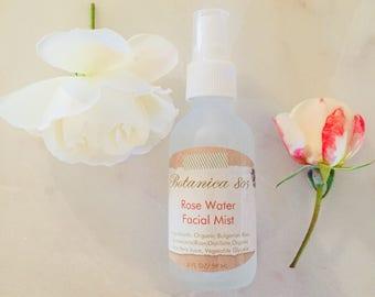 Rose Water Facial Mist | 2 oz