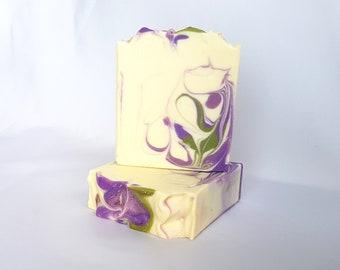 Lilac - Handmade Soap, All Natural Soap, Cold Process Soap, Artisan Soap
