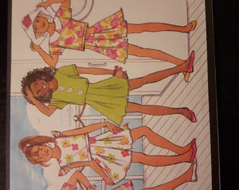 Butterick Busybodies 6089, Girl's Top and Shorts Pattern