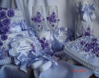 """Wedding package """"Lilac bouquet"""""""