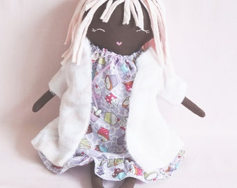 Ethnic Ragdoll - Baby Shower - Nursery Decor Girls - Plush Doll - Gift for Her - Gift for Girls
