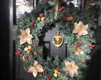 New original, Christmas Wreath, Christmas Items