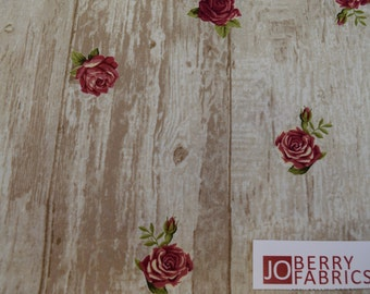 Roses Fabric, Rosie's Summer by Stof Fabrics of Denmark, Quilt or Craft Fabric, Fabric by the Yard