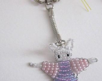 Miss Rabbit key holder