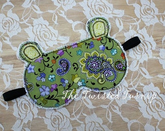 ITH Projects 5x7 Embroidery Design Designs Bear Sleep Mask Machine Embroidery Designs Instant Download Christmas Embroidery Design 5x7 Hoop