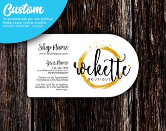 Calling cards etsy business cards half circle business cards custom business cards calling cards social colourmoves