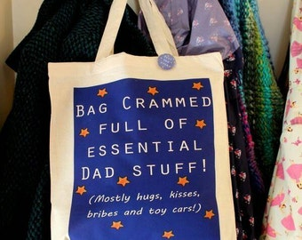 Daddy tote bag new father Essential bag