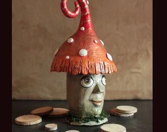 """Bocal magique """"Gnome de Yule"""""""