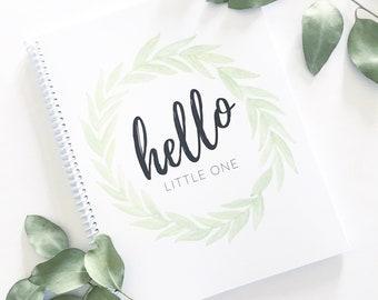 Baby Book   Modern Baby Album, Baby Journal, Gender Neutral, Baby Shower Gift, Scrapbook, Baby Boy, Baby Girl, Pregnancy Journal