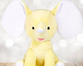 Yellow Elephant plush