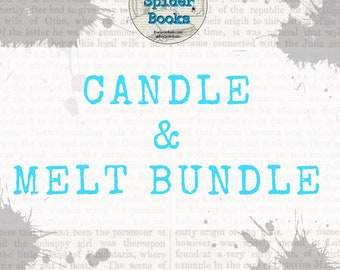 Soy Candle & Melt Bundle    Candle Gift Set    Soy Candles    Housewarming Gift    Candle Lovers Gift    Soy Candle    Soy Melt    Wax Melt