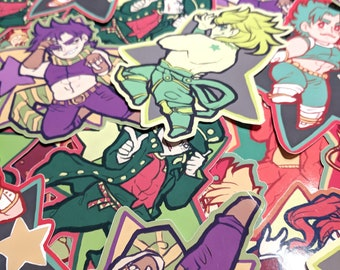 JoJo's Bizarre Adventure Sticker Pack