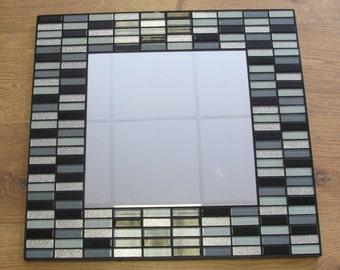 Mosaic Handmade Mirror.