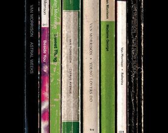 Van Morrison 'Astral Weeks' Album As Penguin Books Poster Print, Classic Album Art, Literary Print