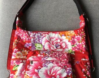 Hakka flower backpack