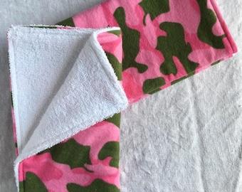 Burp Cloths - Camouflage (Set of 3)