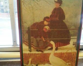 House of Lloyd Christmas Around the World turn of the century nesting tins