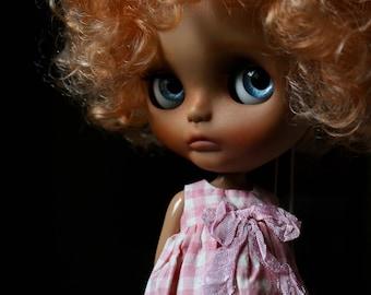 "Ooak Custom  Blythe Art Doll "" Clémentine "" by Iriscustom"