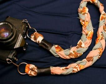 Braided Camera Strap (Short length).