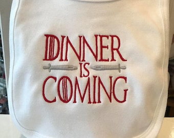 Game Of Thrones Inspired Baby Bib