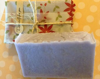 Handmade Soap | Natural Soap | Artisan Soap | Homemade Soap | Lavender Soap |  2 Bars | Gift for Her | Handcrafted Soap | Guest Soap | Gift