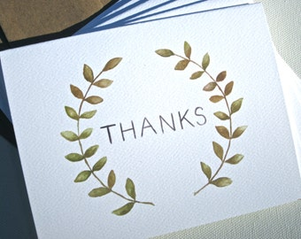 THANKFUL Note Cards, Set of 6
