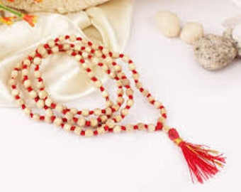 Protection Necklace, Meditation Necklace, Thank you Gift, Tulsi Mala, Tulsi Necklace, Prayer Beads, Meditation Necklace, Yoga Necklace
