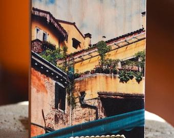 Balcony of Love   Wood Print