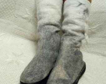 Felt Shoes women , Shoes, Wool felted boots, Wool shoes, Felted boots,Outdoor boots/Indoor boots,Handmade shoes,women boots,Boots