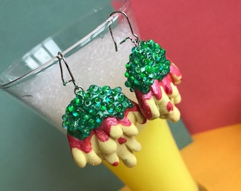 earrings tropical syrup