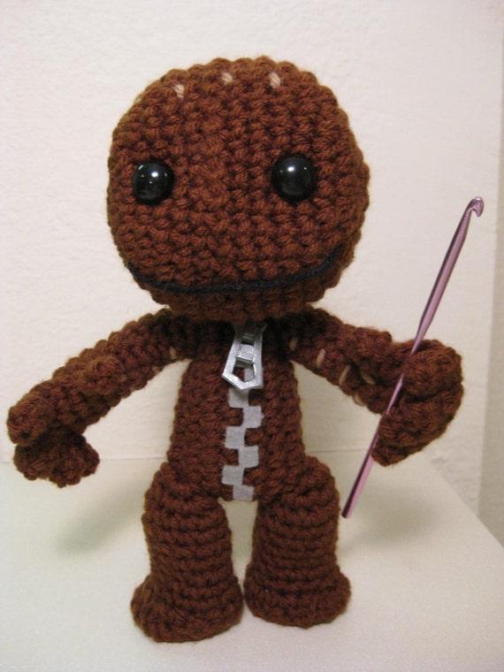 Sackboy Crochet Pattern from RichmondArt on Etsy Studio