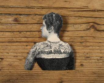 Tattoo Lady Brooch