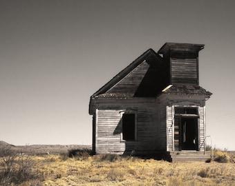 Verlassene Kirche - Fine Art Fotografie - alte Südwest Land religiös spirituellen 16 x 24