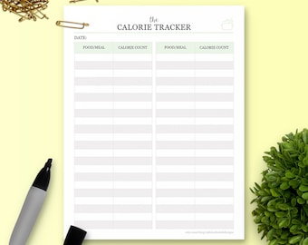 The Calorie Tracker - Single Insert - The Ultimate Planner