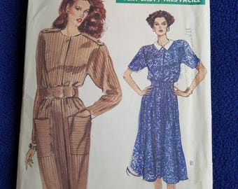 Vogue Pattern #7552  Dress Sz 14/16/18