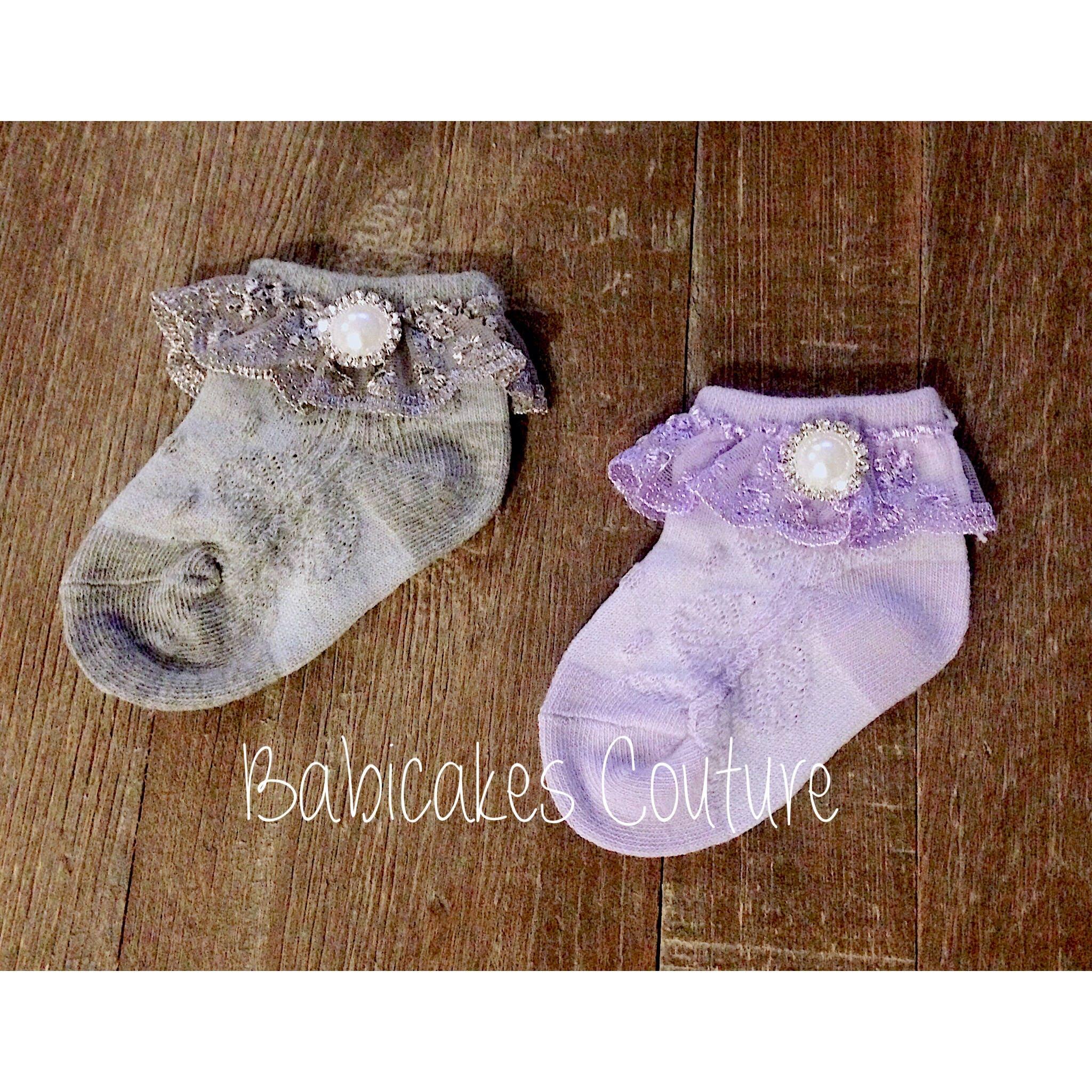 Baby Girl Socks Fancy Baby Socks Lace Baby Socks Special