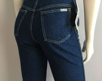 Vintage Women's 80's Unworn, Bonjour, High Waisted, Jeans, Denim (S)