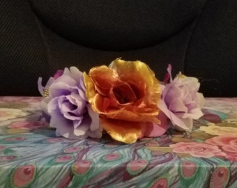 Witches' Fire Flower Tiara